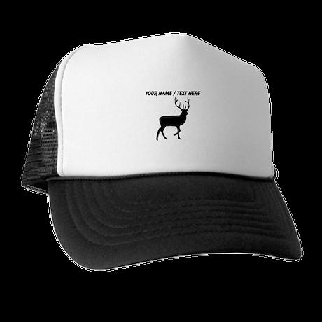Personalized Black Elk Silhouette Trucker Hat