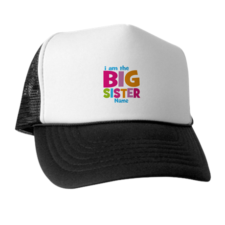 Big Sister Personalized Trucker Hat