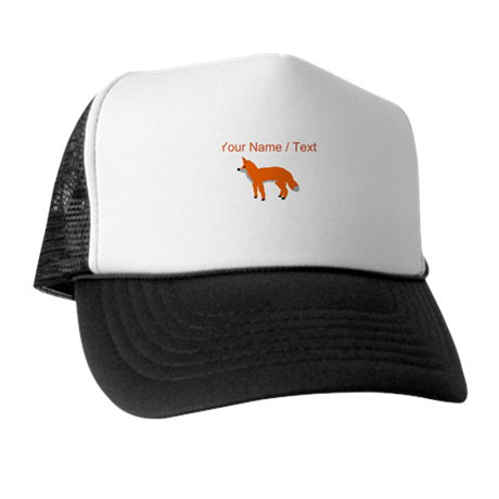 Custom Orange Fox Pup Hat