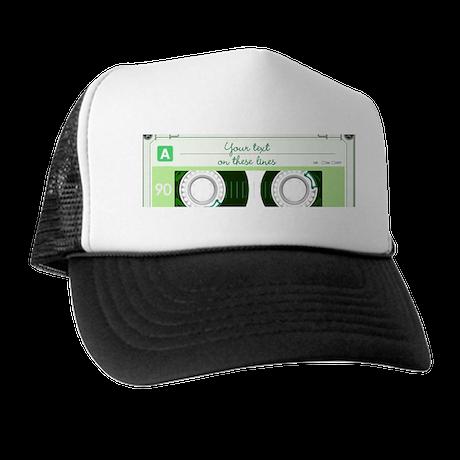 Cassette Tape - Green Trucker Hat