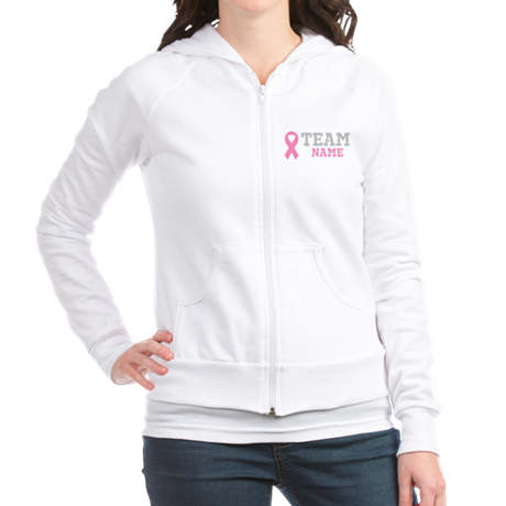 Personalize Breast Cancer Jr. Hoodie