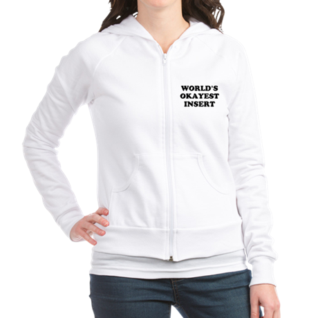World's Okayest Insert Personalize Jr. Hoodie