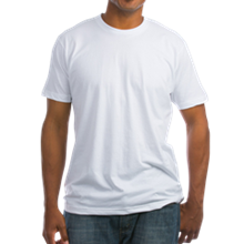 For Dog's Sake Adopt Men's Fitted Tee