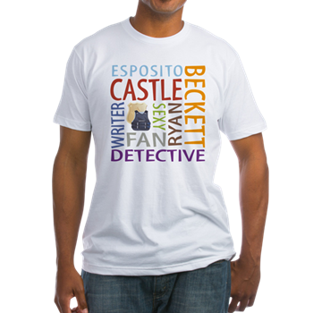 castle tv show t-shirt