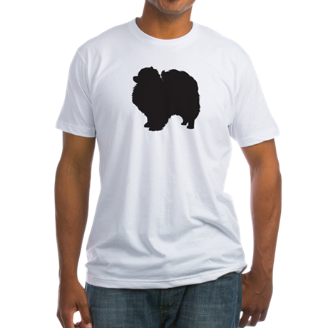 Pomeranian Fitted T-Shirt