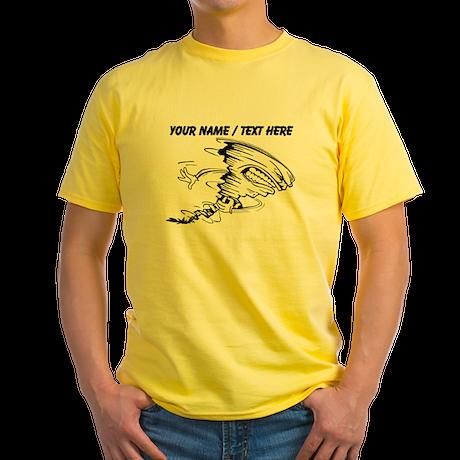 Custom Tornado Football T-Shirt