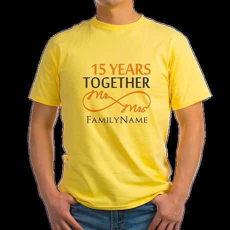 15th anniversary Yellow T-Shirt