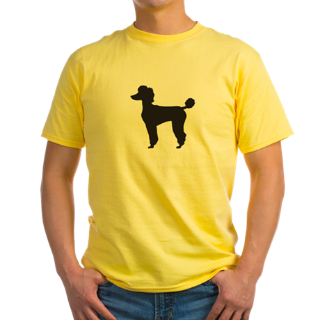 Poodle Yellow T-Shirt