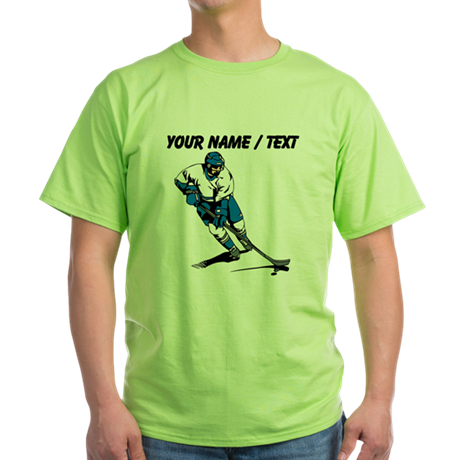 Custom Hockey Player T-Shirt