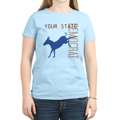 Customized Democrat Women's Light T-Shirt
