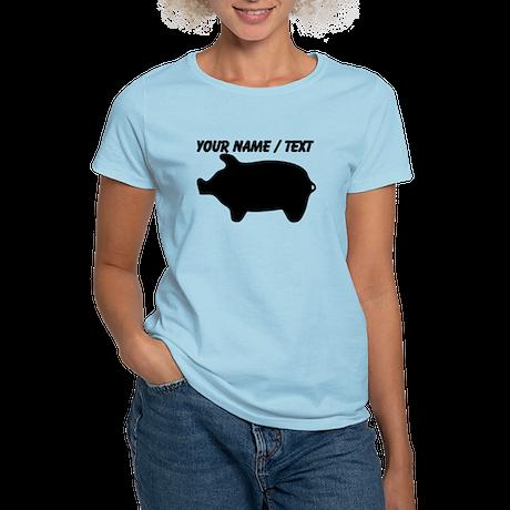 Custom Piggy Silhouette T-Shirt