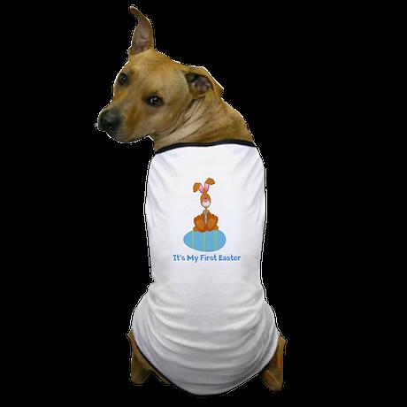 Customizable 1st Easter (blue Dog T-Shirt