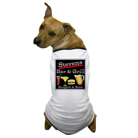 Personalized Bar and Grill Dog T-Shirt