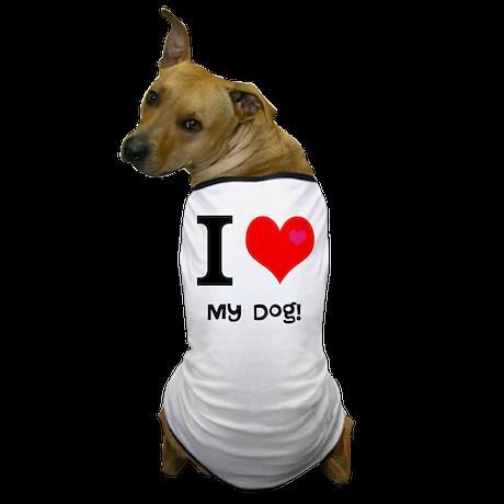 Personalised I Love... Dog T-Shirt