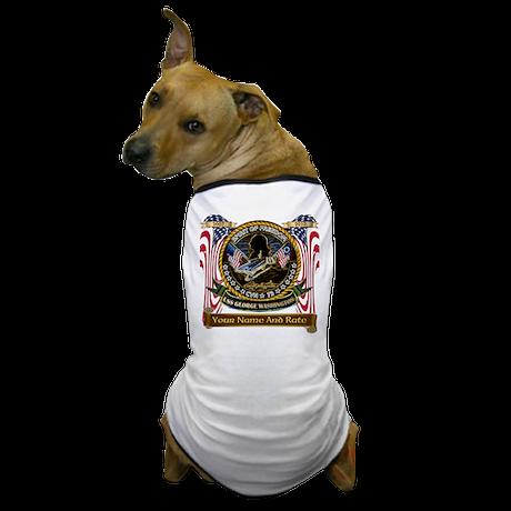 USS George Washington CVN 73 Dog T-Shirt