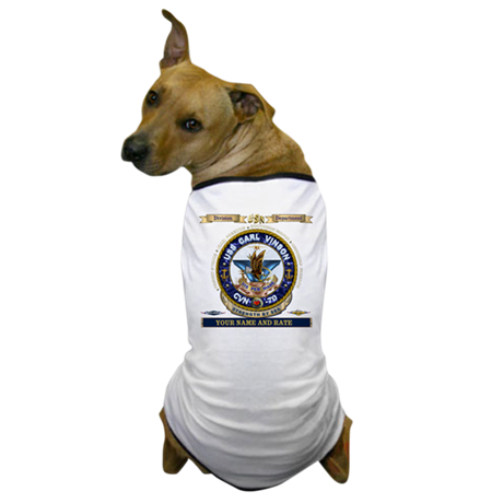USS Carl Vinson CVN 70 Dog T-Shirt