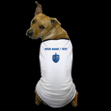 Custom Blue Dradle Dog T-Shirt