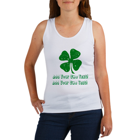 Personalize it - St. Patty's Day Women's Tank Top