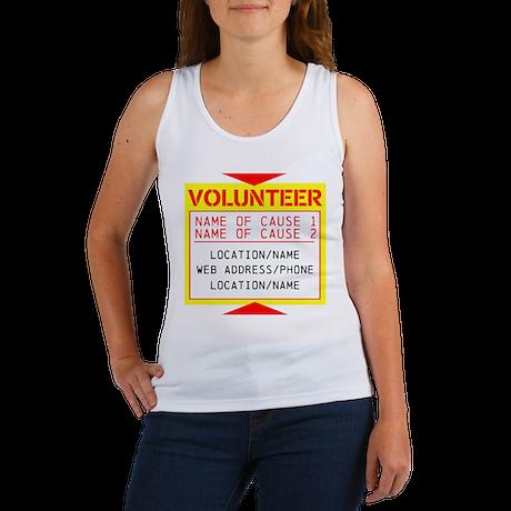Volunteer Clean-Up Women's Tank Top