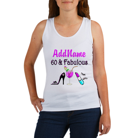 SUPERB 60 YR OLD Women's Tank Top