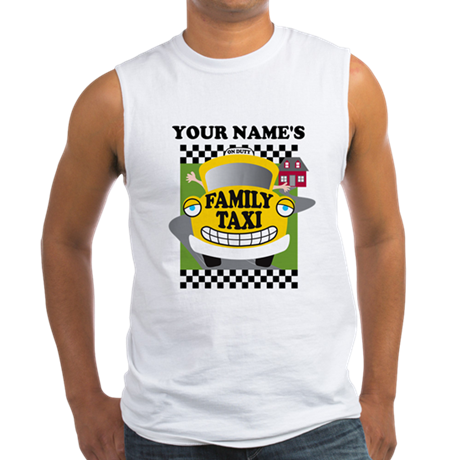 Personalized Family Taxi Men's Sleeveless Tee