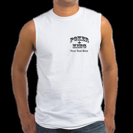Customizable Poker King Men's Sleeveless Tee