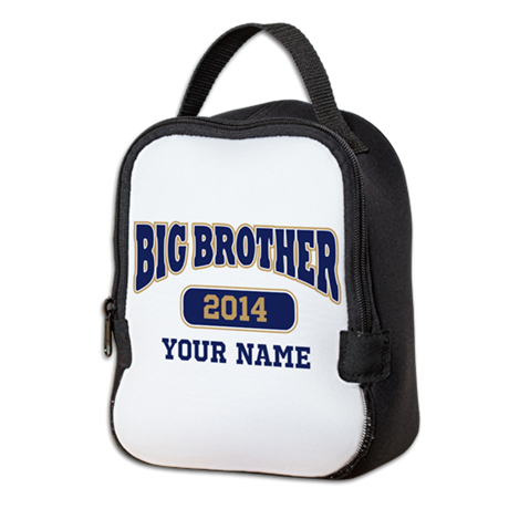 Personalized Big Brother Neoprene Lunch Bag