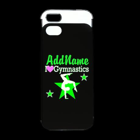 GREEN STAR GYMNAST iPhone 5/5S Wallet Case