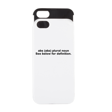 abs definition iphone 5 wallet case by stayfitbuzzfitnesstshirts. Black Bedroom Furniture Sets. Home Design Ideas