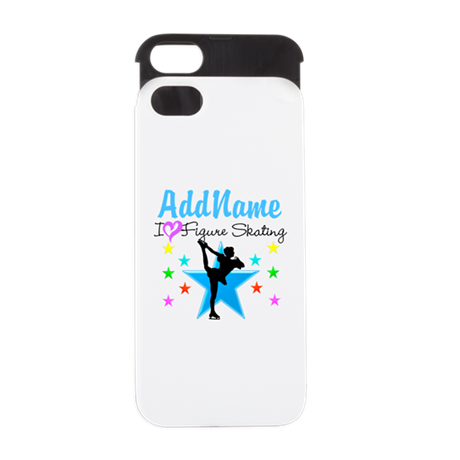 ICE SKATING STAR iPhone 5 Wallet Case