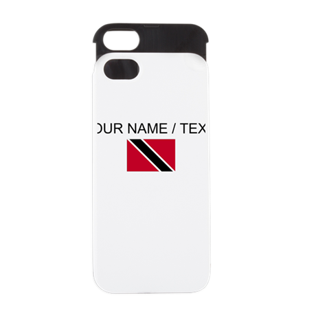 Custom Trinidad and Tobago Flag iPhone 5 Wallet Ca
