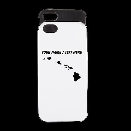 Custom Hawaii Silhouette iPhone 5 Wallet Case