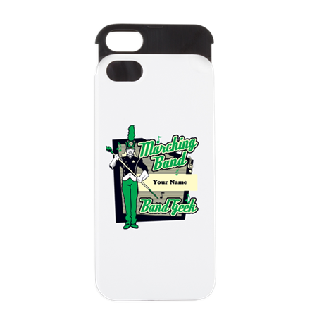Marching Band Geek (Green) iPhone 5 Wallet Case