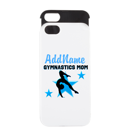 STAR GYMNAST MOM iPhone 5 Wallet Case