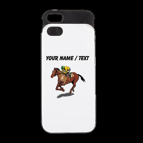 Custom Race Horse iPhone 5 Wallet Case