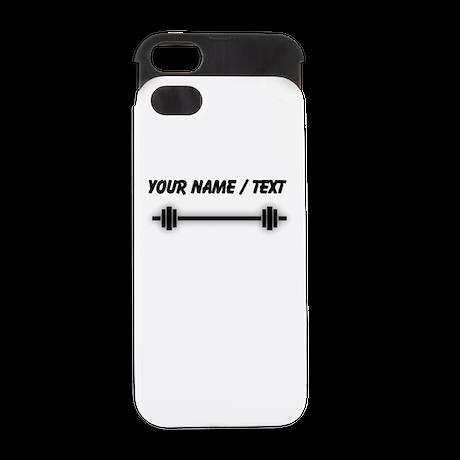 Custom Barbell iPhone 5/5S Wallet Case