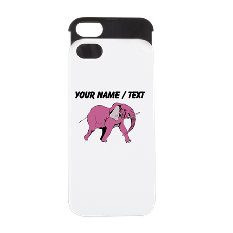 Custom Pink Elephant iPhone 5/5S Wallet Case