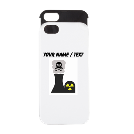Custom Nuclear Smokestack iPhone 5/5S Wallet Case