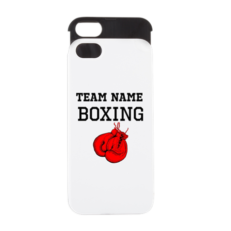 (Team Name) Boxing iPhone 5/5S Wallet Case