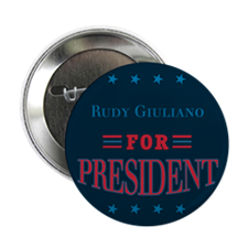 "Cute Rudy giuliano for president 2.25"" Button"