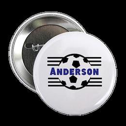 Custom Soccer Button