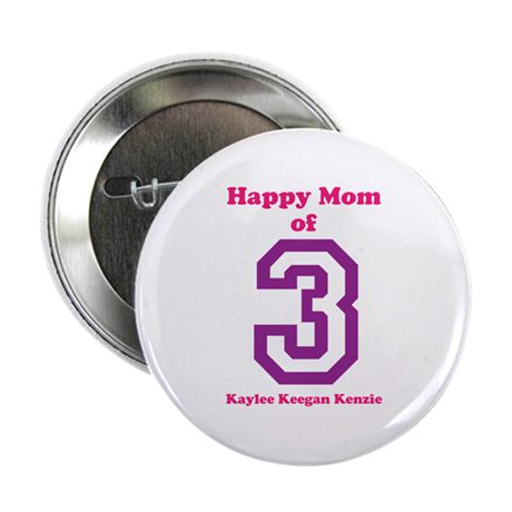 """Personalized Mother 2.25"""" Button"""
