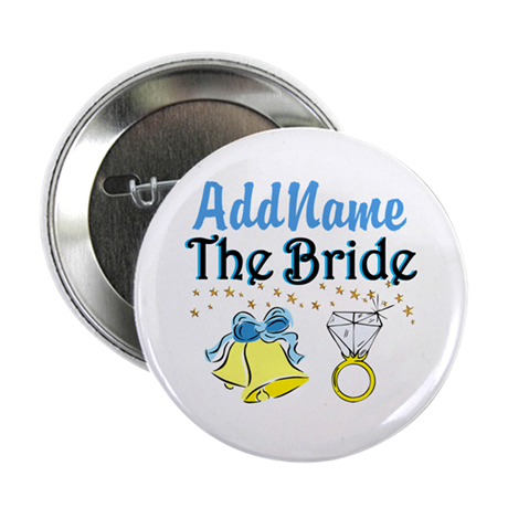 """LOVELY BRIDE 2.25"""" Button"""