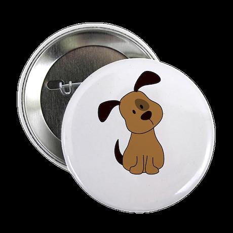 "Cute Puppy 2.25"" Button"
