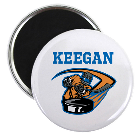 Personalized Hockey Magnet