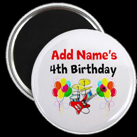 HAPPY 4TH BIRTHDAY Magnet