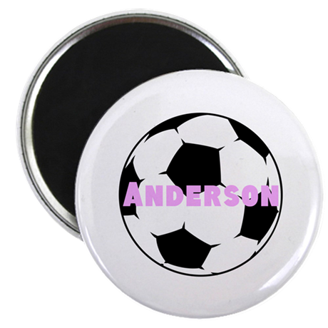 Personalized Soccer Magnet
