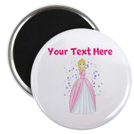 Personalize This Princess Designed Item Magnet