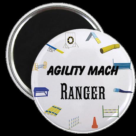 Dog Agility Title Magnet