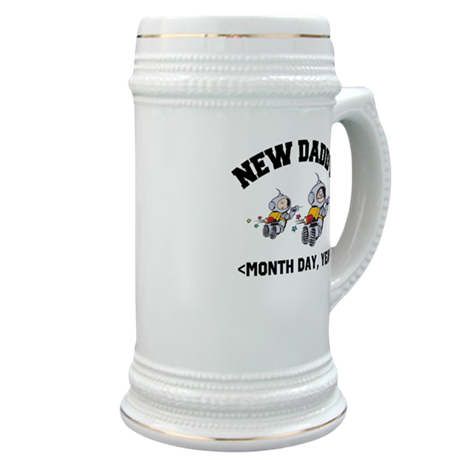 Personalized New Daddy Stein